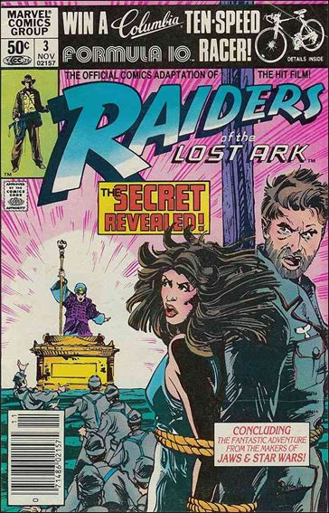 Raiders of the Lost Ark 3-A by Marvel