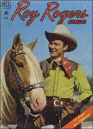 Roy Rogers Comics 27-A