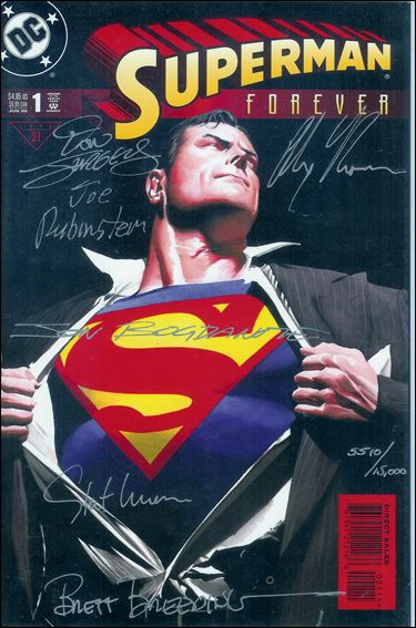 Superman Forever 1-C by DC