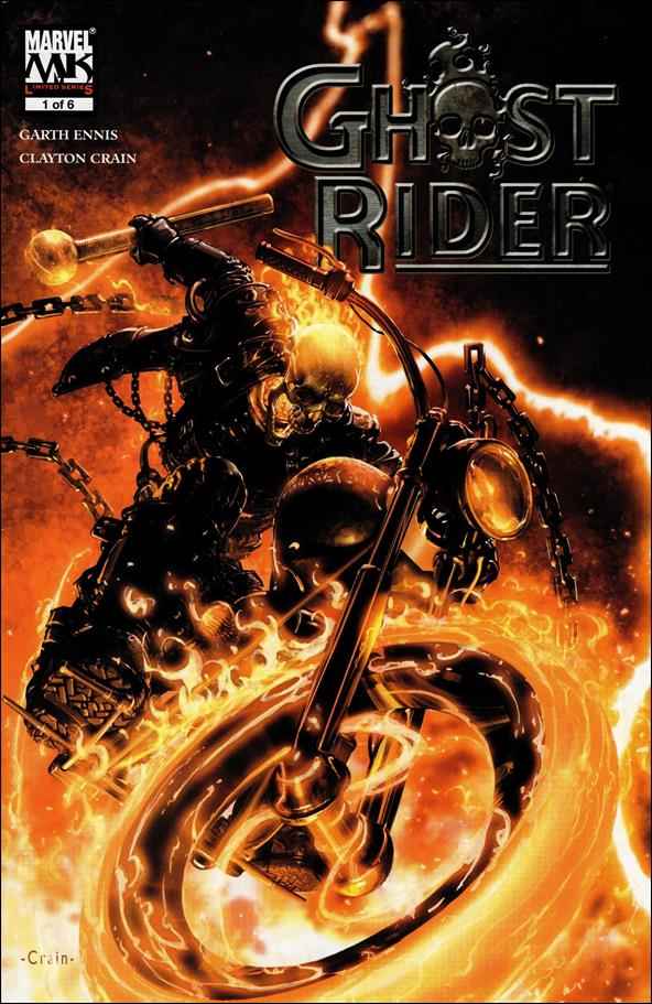 Ghost Rider (2005) 1-A by Marvel