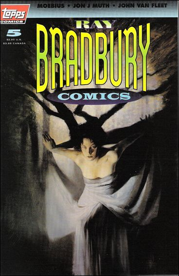 Ray Bradbury Comics 5-A by Topps