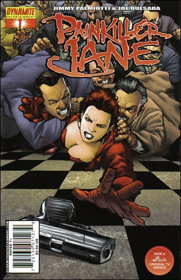 Painkiller Jane (2007) 1-C by Dynamite Entertainment