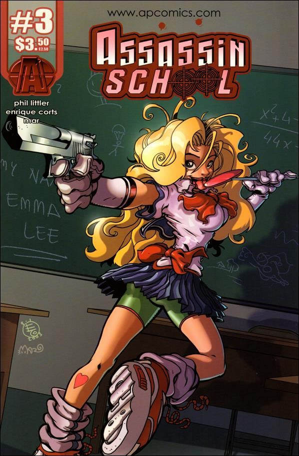 Assassin School (2004) 3-A by AP Comics