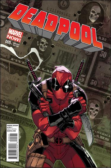 Deadpool (2013) 5-B by Marvel