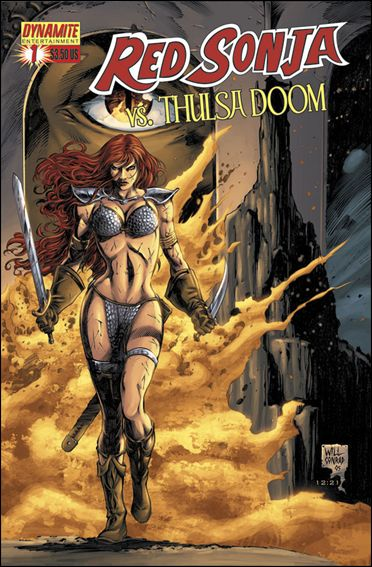 Red Sonja vs Thulsa Doom 1-A by Dynamite Entertainment