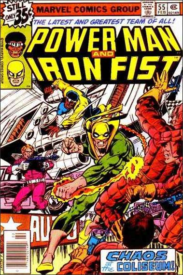 Power Man and Iron Fist (1978) 55-A by Marvel