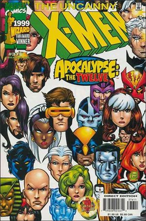 Uncanny X-Men (1981) 376-A