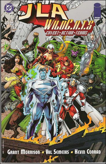 JLA/WildC.A.T.s 1-A by DC
