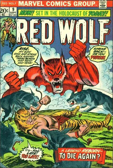 Red Wolf (1972) 9-A by Marvel