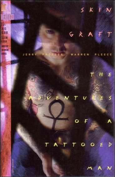 Skin Graft: The Adventures of a Tattooed Man 1-A by Vertigo