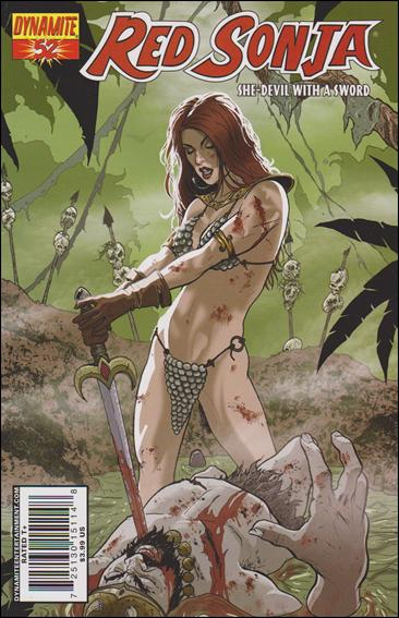 Red Sonja (2005) 52-B by Dynamite Entertainment