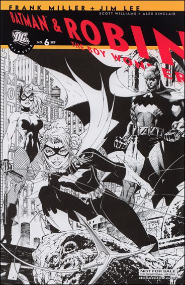 All Star Batman & Robin, The Boy Wonder 6-C by DC