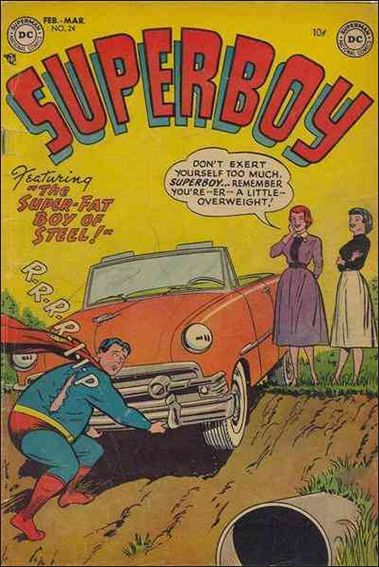 Superboy (1949) 24-A by DC