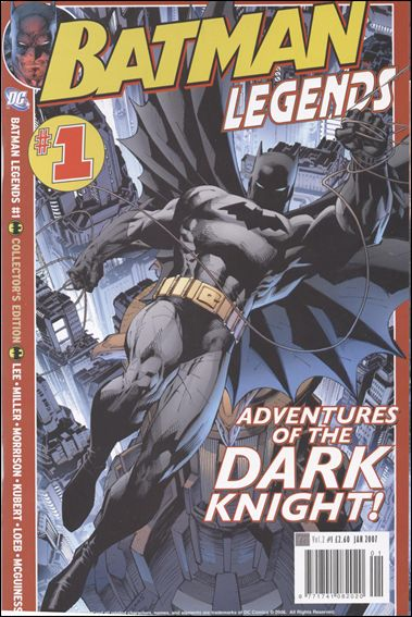 Batman Legends (2007) (UK) 1-A by Titan Magazines