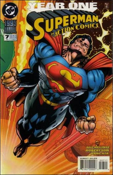 Action Comics Annual (1987) 7-A by DC