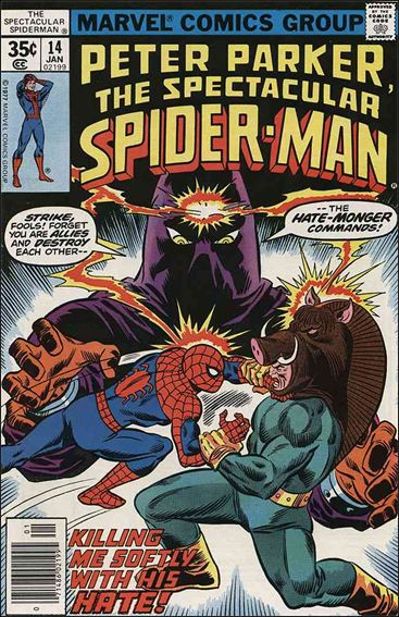Spectacular Spider-Man (1976) 14-A by Marvel