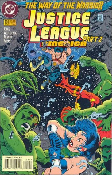 Justice League America 101-A by DC