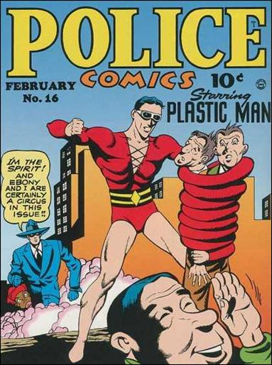 Police Comics 16-A by Comic Magazines