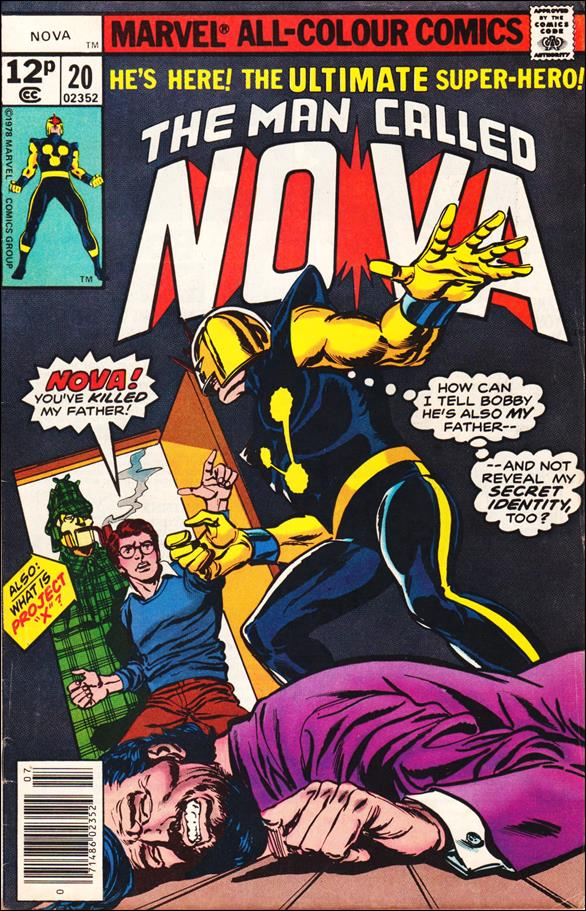 Nova (1976) 20-B by Marvel