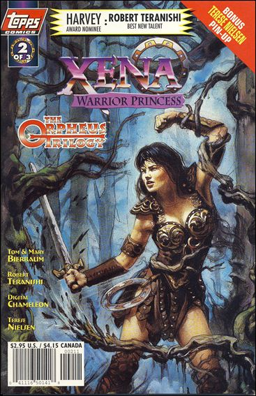 Xena: Warrior Princess: The Orpheus Trilogy 2-B by Topps
