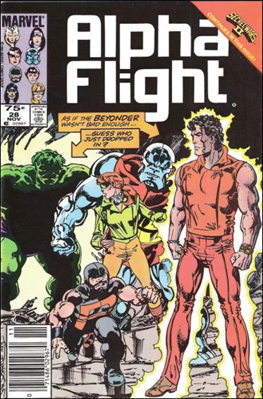 Alpha Flight (1983) 28-B by Marvel
