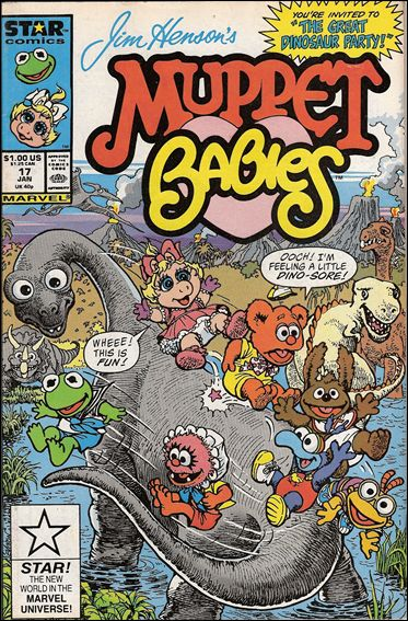 Muppet Babies (1985) 17-A by Star