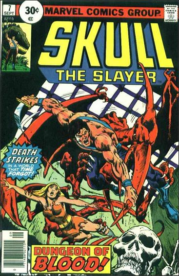 Skull the Slayer 7-A by Marvel