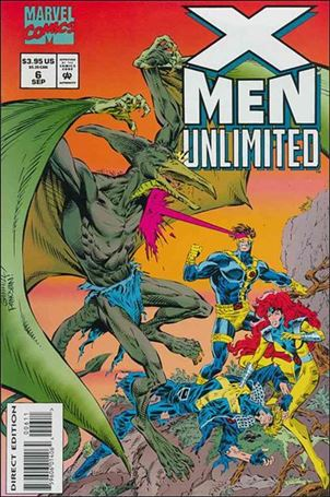 X-Men Unlimited (1993) 6-A