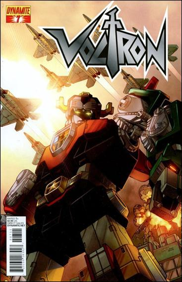 Voltron (2011) 7-A by Dynamite Entertainment