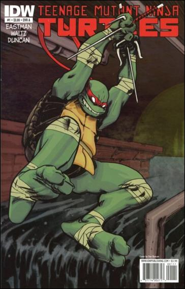 Teenage Mutant Ninja Turtles (2011) 1-A by IDW
