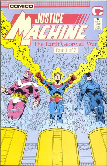 Justice Machine (1987) 19-A by Comico