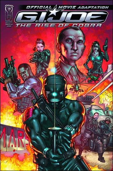 G.I. Joe: Rise Of Cobra Movie Adaptation  1-A by IDW