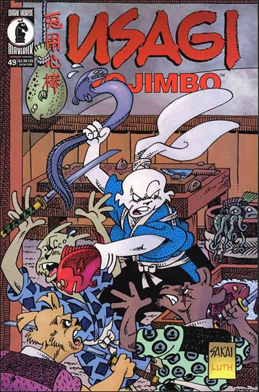 Usagi Yojimbo (1996) 49-A by Dark Horse