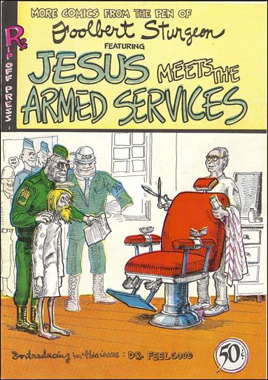 Jesus Meets the Armed Services nn-B by Rip Off Press