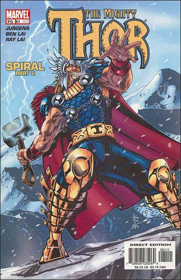 Thor (1998) 61-A by Marvel