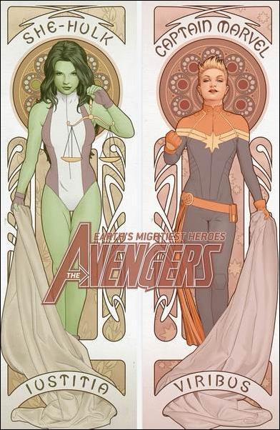 Avengers (2018/07) 1-R by Marvel