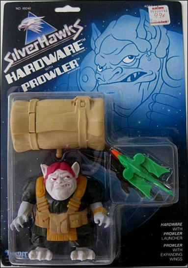 Silverhawks Hardware with Prowler by Kenner