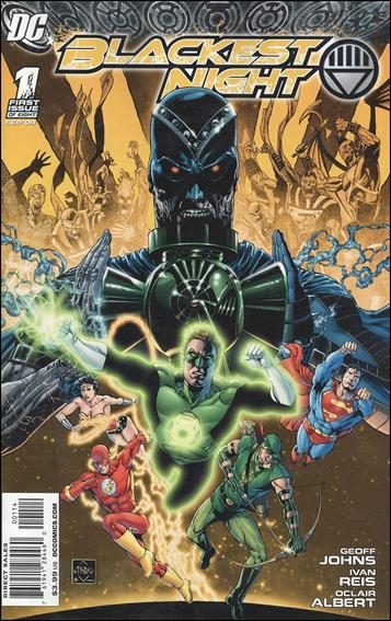 Blackest Night 1-G by DC