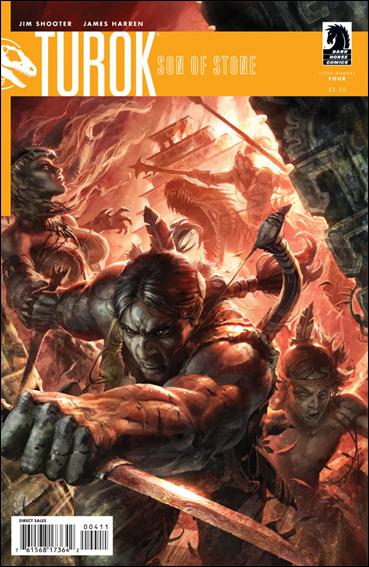 Turok, Son of Stone (2010) 4-A by Dark Horse