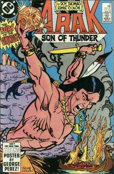Arak Son of Thunder 31-A by DC