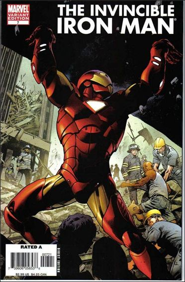 Invincible Iron Man (2005) 7-B by Marvel