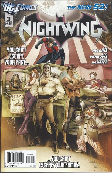 Nightwing (2011) 3-A by DC