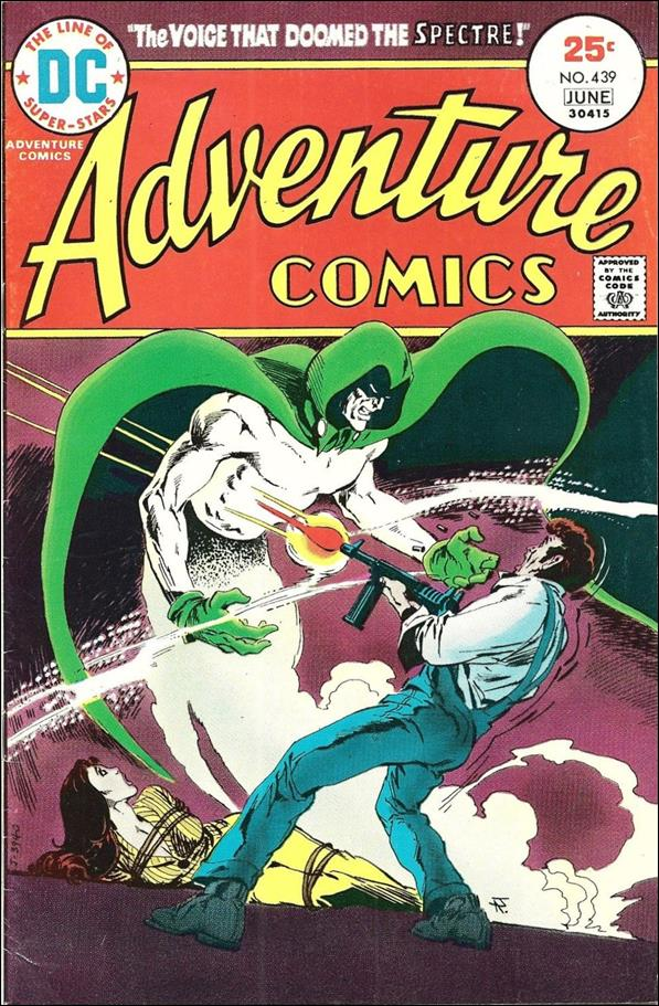 Adventure Comics (1938) 439-A by DC