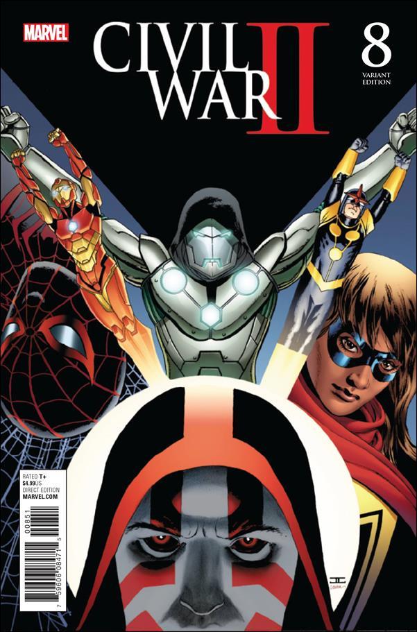 Civil War II 8-E by Marvel