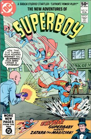 New Adventures of Superboy 14-A