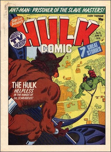 Hulk Comic (UK) 15-A by Marvel UK
