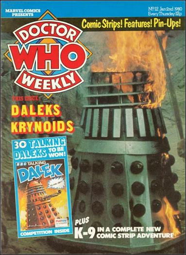 Doctor Who Weekly 12-A by Marvel UK