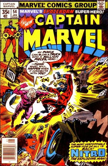 Captain Marvel (1968) 54-A by Marvel