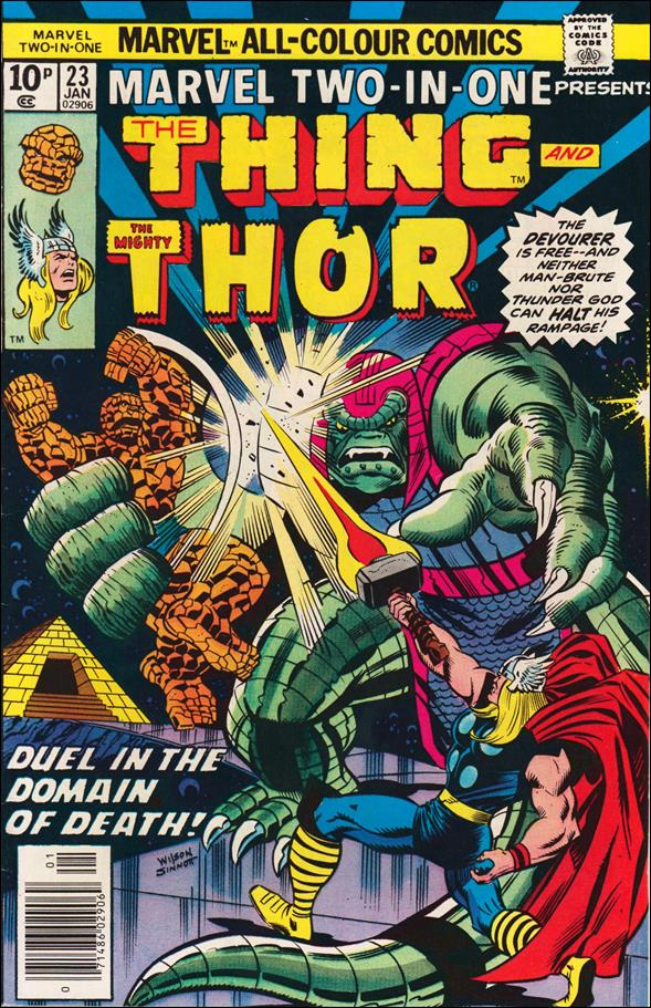 Marvel Two-in-One (1974) 23-B by Marvel
