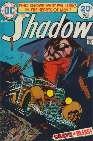 Shadow (1973) 4-A by DC